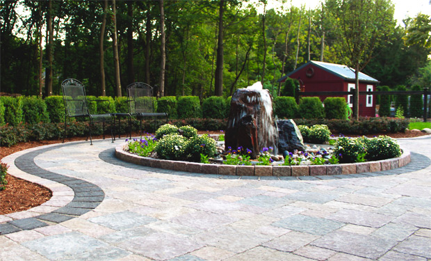 Courtyard Stone & Landscape Stone Fountains